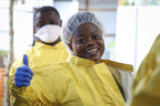 Training per il trattamento dell'ebola
