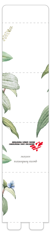 Bomboniera Botanica Bianca