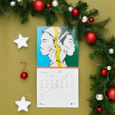 Calendario da parete MSF-Comics 2021