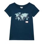 T-shirt donna VISAS blu baltico