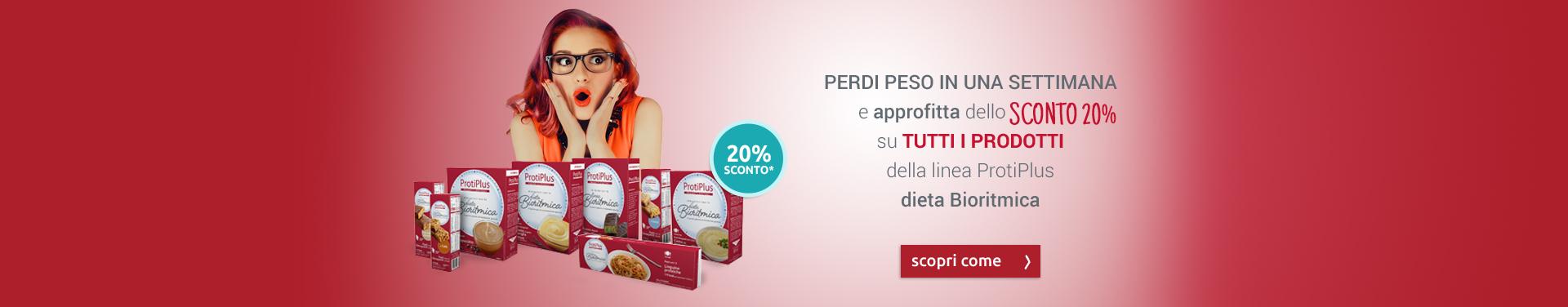 PROTIPLUS - Saldi Luglio, sconto 20%