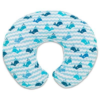 Almofada de amamentação Boppy Blue Whales