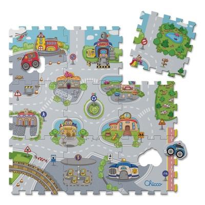 Tapete Puzzle da Cidade