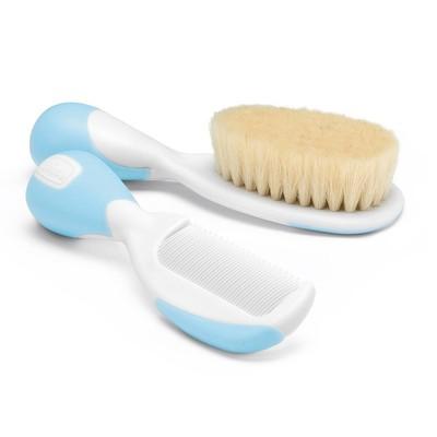 Escova e pente Azul