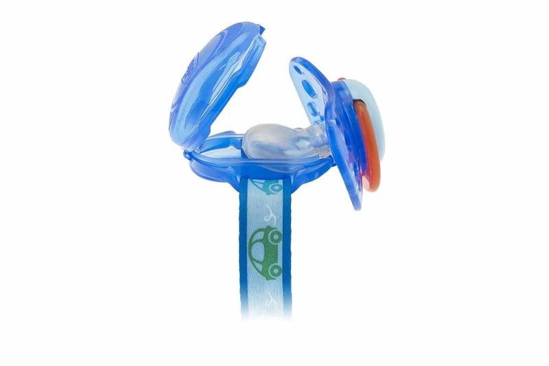 Clip protetor de chupeta Azul