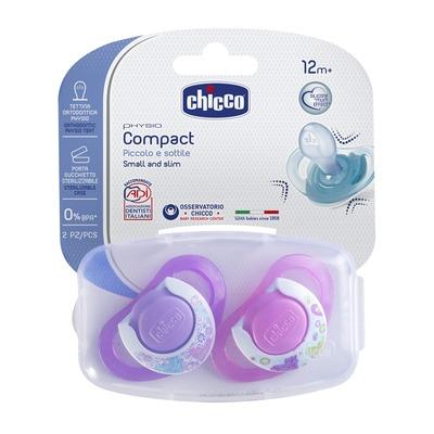 Chupetas Physio Compact Silicone Rosa