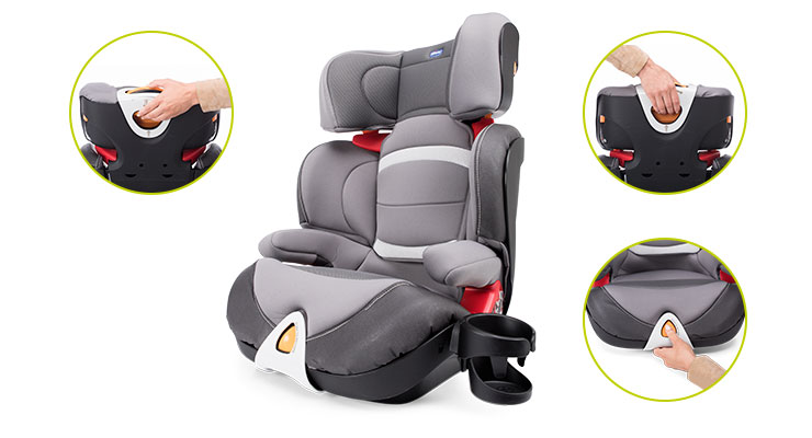 Cadeira Auto Oasys 2-3 Evo Black Night