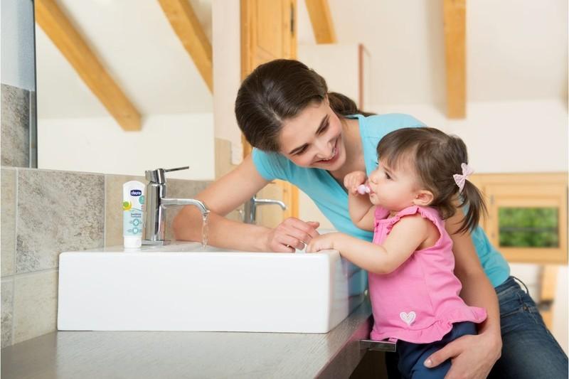 Escova de dentes Rosa