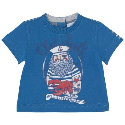 T-shirt Sailor Spirit azul