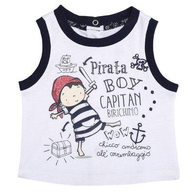 T-shirt sem mangas Pirata