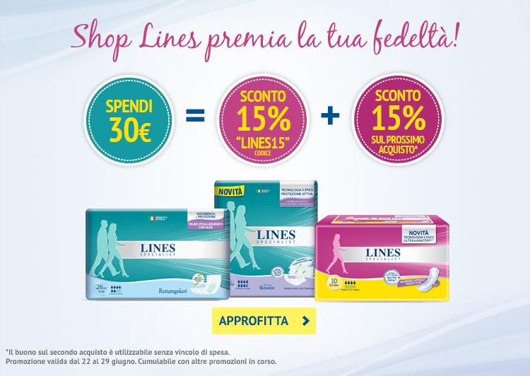 Spendi 30€, riceverai subito uno sconto del 15% e 15% di sconto per il prossimo acquisto!