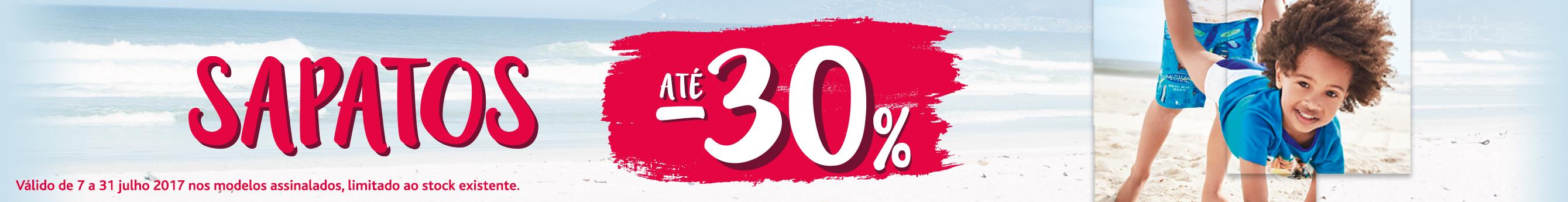 Promoções Sapatos até -30%