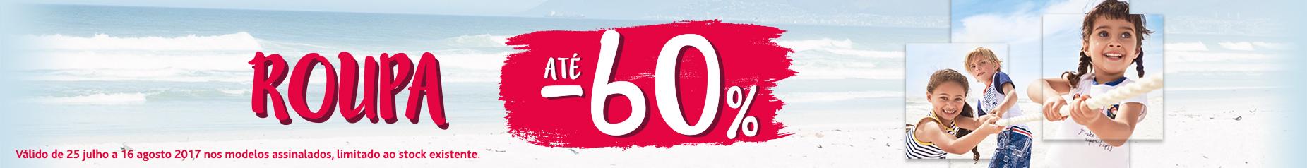 Promoções Roupa até -60%