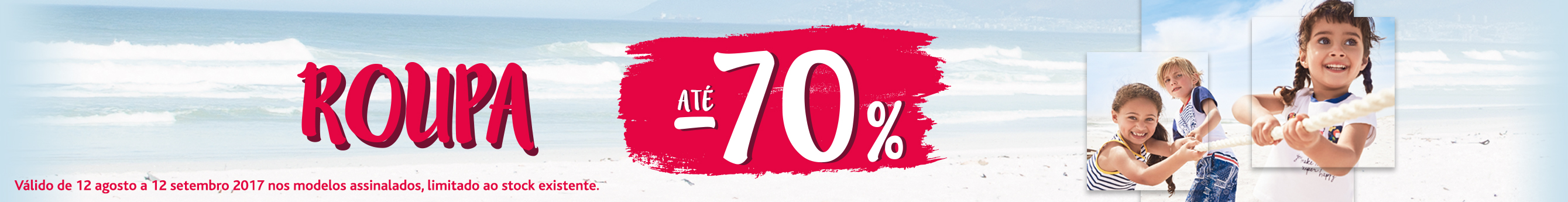 Promoções Roupa até -70%