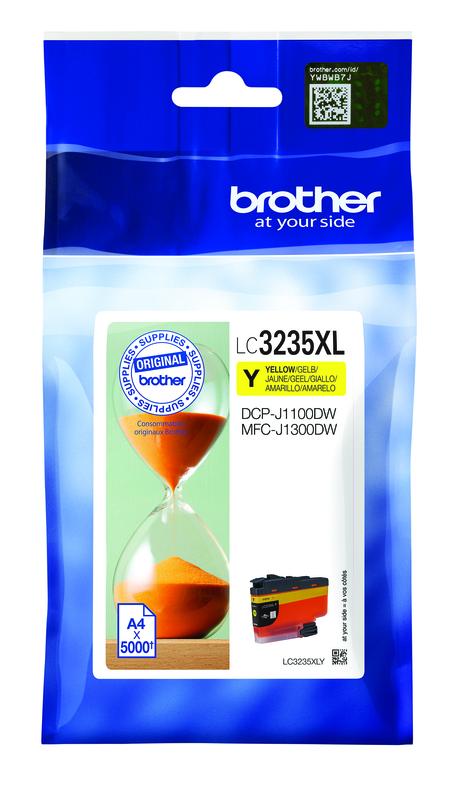 LC-3235XLY Cartuccia originale inkjet ad altissima capacità. Giallo