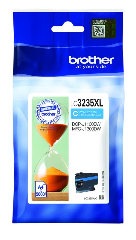 LC-3235XLC Cartuccia originale inkjet ad altissima capacità. Ciano
