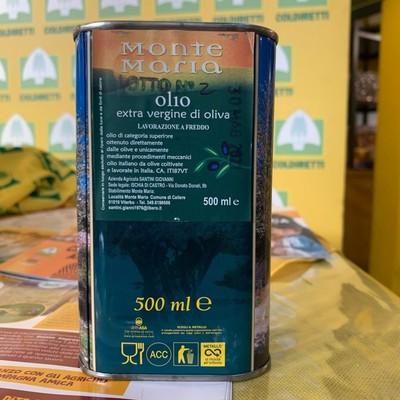 OLIO EXTRA VERGINE DI OLIVA 0,5 L.