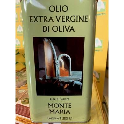 OLIO EXTRA VERGINE DI OLIVA 3 L.