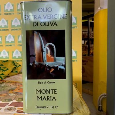 OLIO EXTRA VERGINE DI OLIVA 5 L.